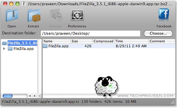 Open rar files on mac